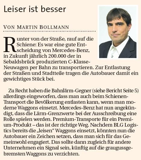 Kommentar von Seite 2 - Quelle: weserreport.de vom 27.01.2013