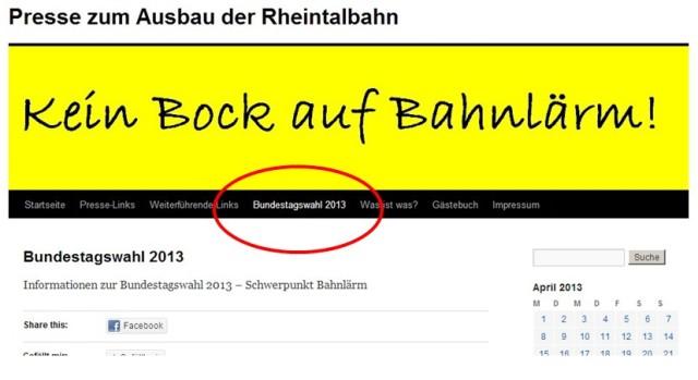 hinweis wahl 2013
