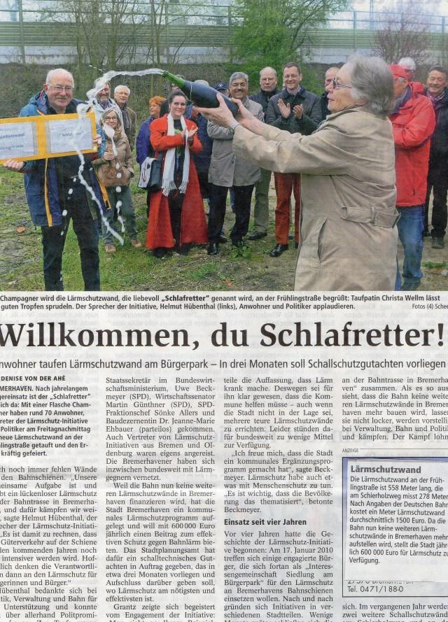 """Willkommen, du Schlafretter!"""